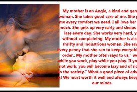 010 Essay About Mom Example Surprising Influence Being Role Model On And Dad In Gujarati