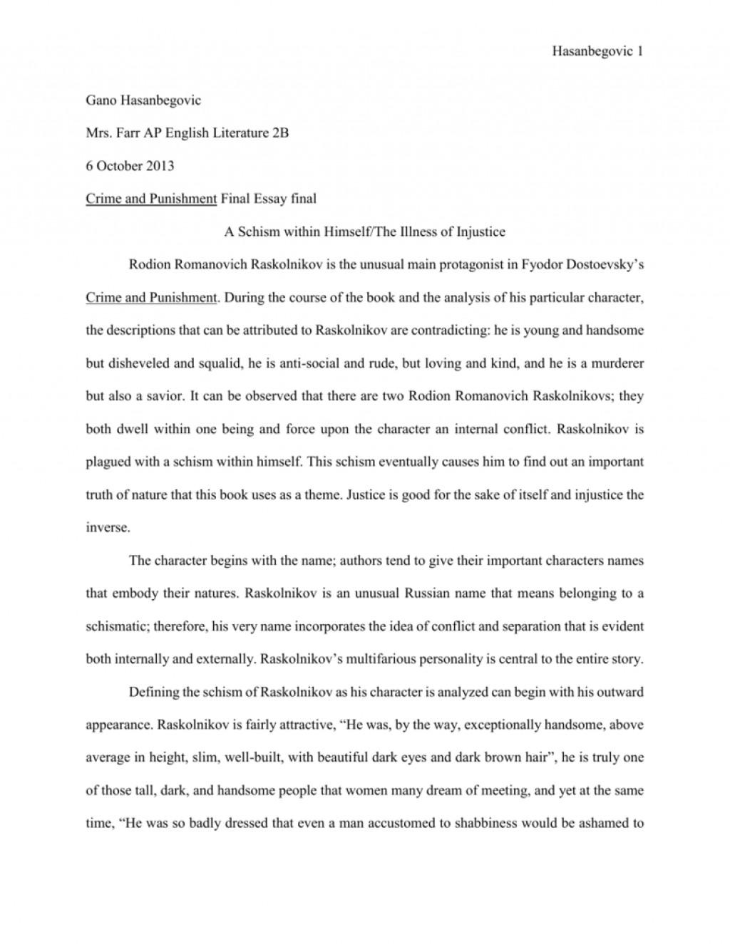 010 Essay Example 006697222 1 Crime And Wondrous Punishment Outline Pdf Ielts Large