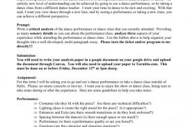 010 Essay Example 008002751 1 Frightening Dance Jazz Topics Scholarships Conclusion