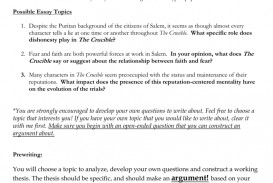 010 Essay Example 008056964 1 The Crucible Shocking Topics Questions Pdf Persuasive Prompts Literature
