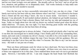 010 Essay Example About Admire My Mother Phenomenal