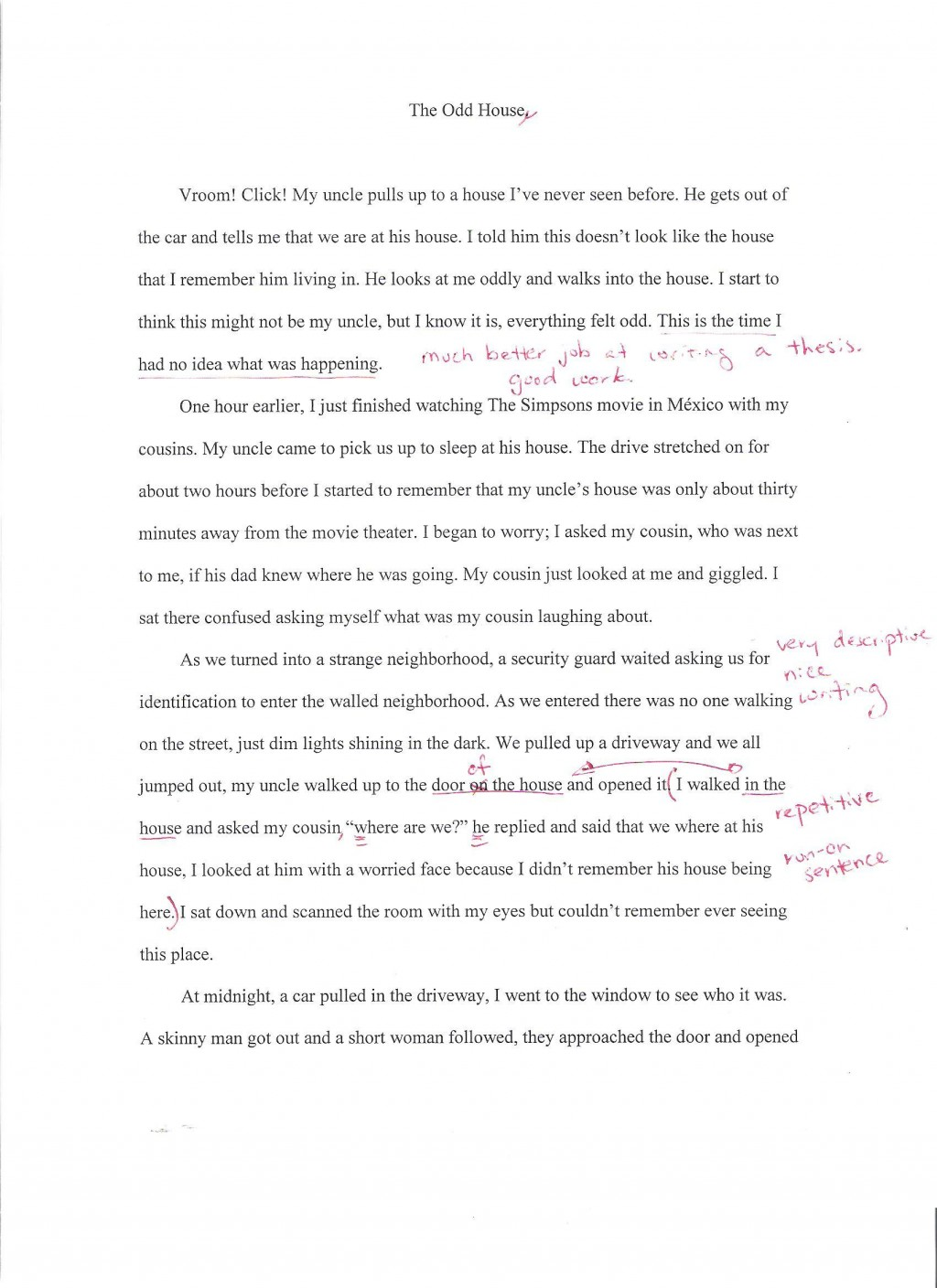 010 Essay Example Autobiography Autobiographysample2 Unique For Highschool Students Pdf Bibliography Examples Large