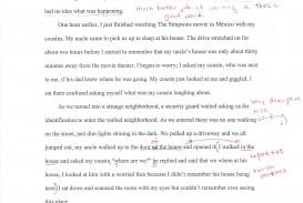 010 Essay Example Autobiography Autobiographysample2 Unique Pdf Examples For College