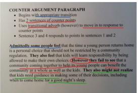 010 Essay Example Counter Beautiful Argument Examples Persuasive Sample