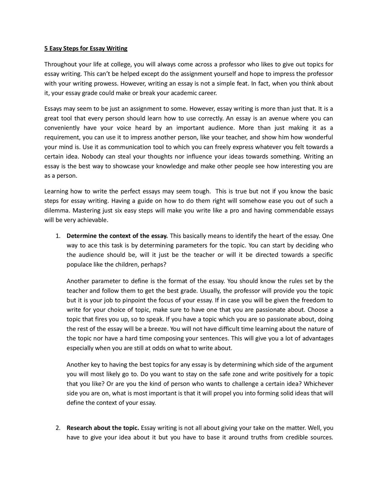 010 Essay Example Easy Way To Write An Excellent Argumentative How Analytical In Ielts Task 2 Full
