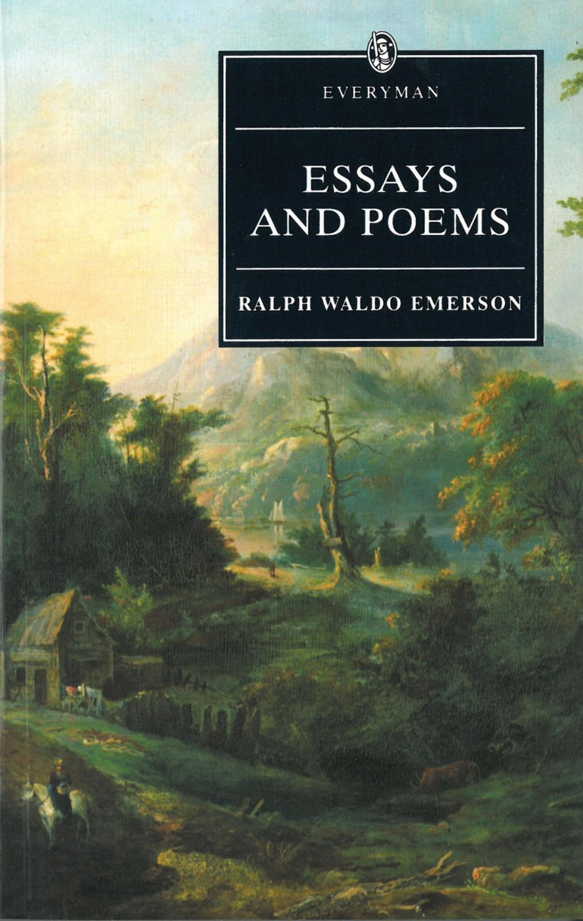 010 Essay Example Emerson Essays Dreaded Ralph Pdf First Series Summary Waldo Nature 1920