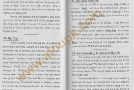 010 Essay Example English Essays For Aiou Unique Daily On Routine Of Housewife June 21 My Life