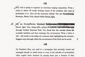 010 Essay Example English Topics Cbse Set Dreaded Literature Question Paper For Class 10 Icse 2015 Maharashtra Board