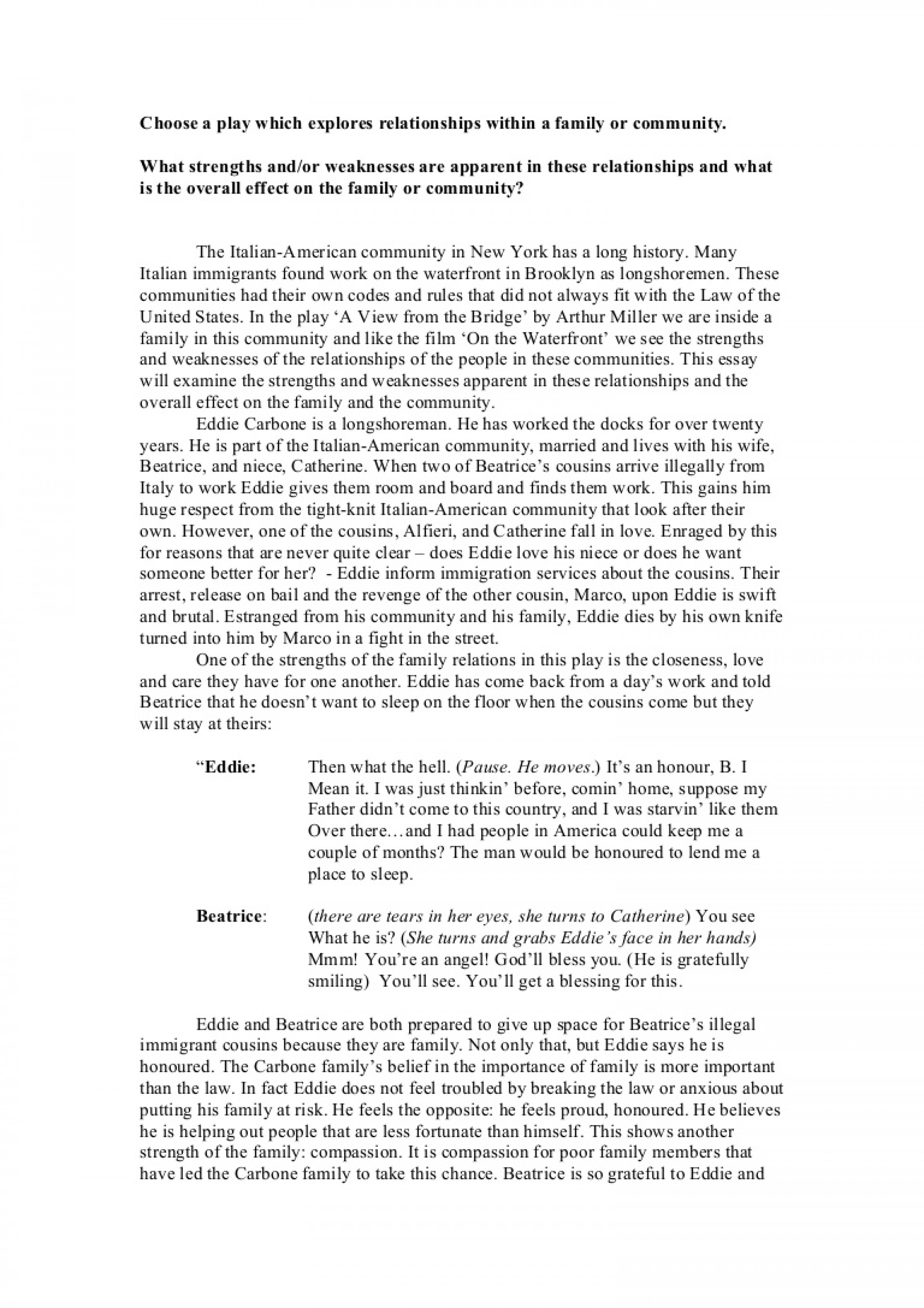 010 Essay Example Examiningthestrengthsandweaknessesinthefamilyandcommunity Phpapp02 Thumbnail Dreaded Persuasive Speech Topics For Elementary Outline Rubric 10th Grade 1920