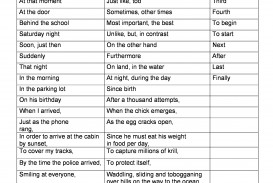 010 Essay Example Gr3 Stb23 Persuasive Transition Fearsome Words Writing Worksheet
