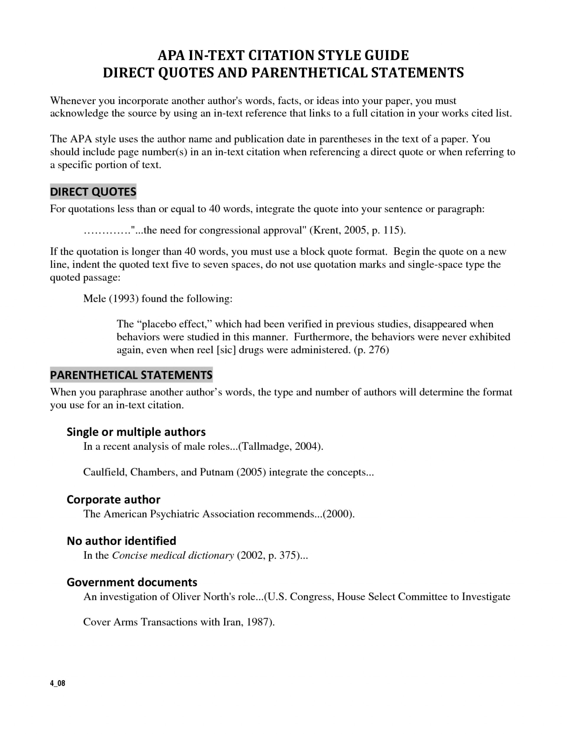 010 Essay Example How To Incorporate Quotes Into An Cited Wondrous Integrating Worksheet A Long Quote Mla Famous In 1920