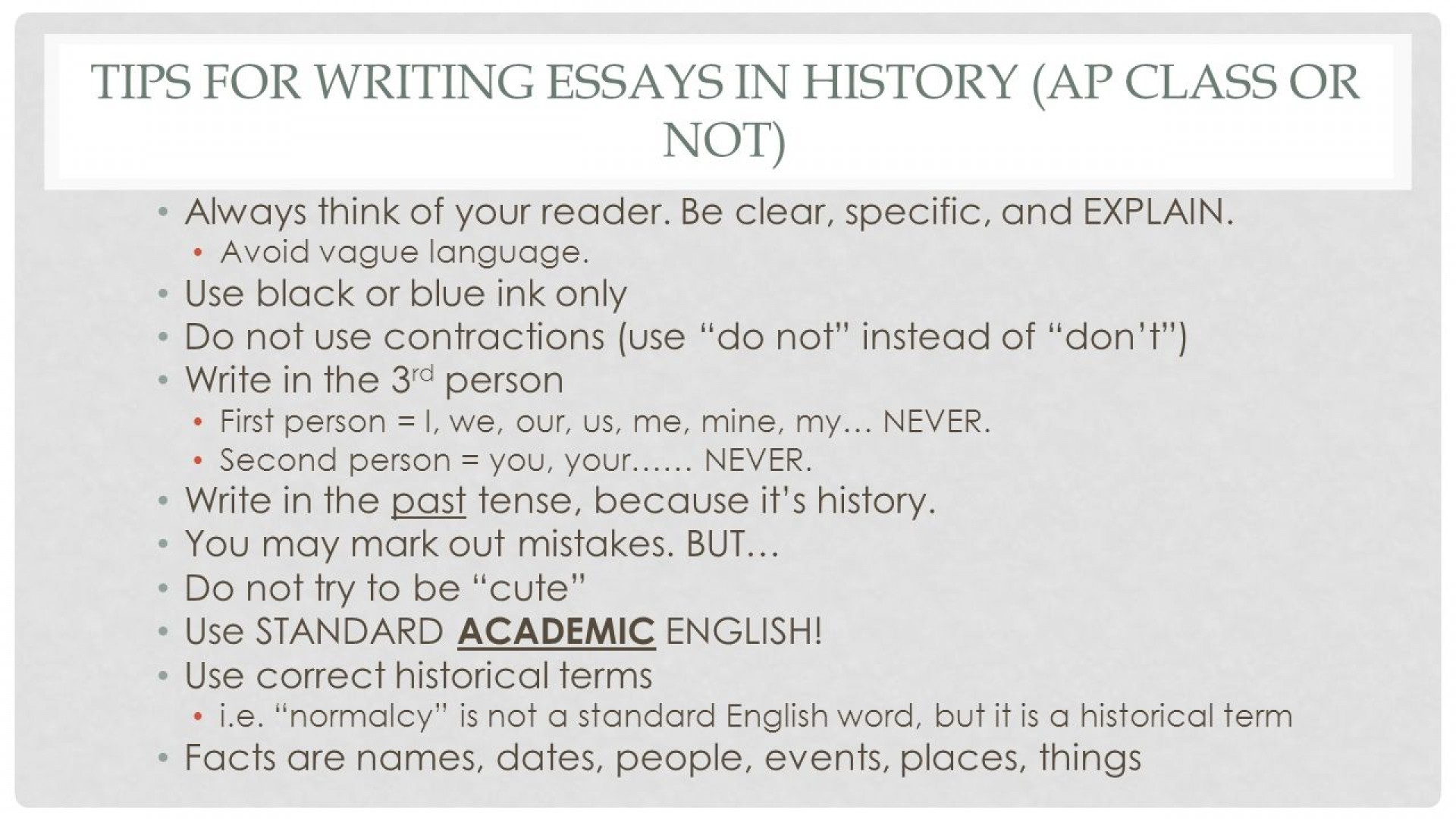 010 Essay Example How To Write Long The Question Ppt Downl In One Night For Ap Us History Proposal World With Little Information Quickly Apush Dreaded A Periodization Good Comparative 1920
