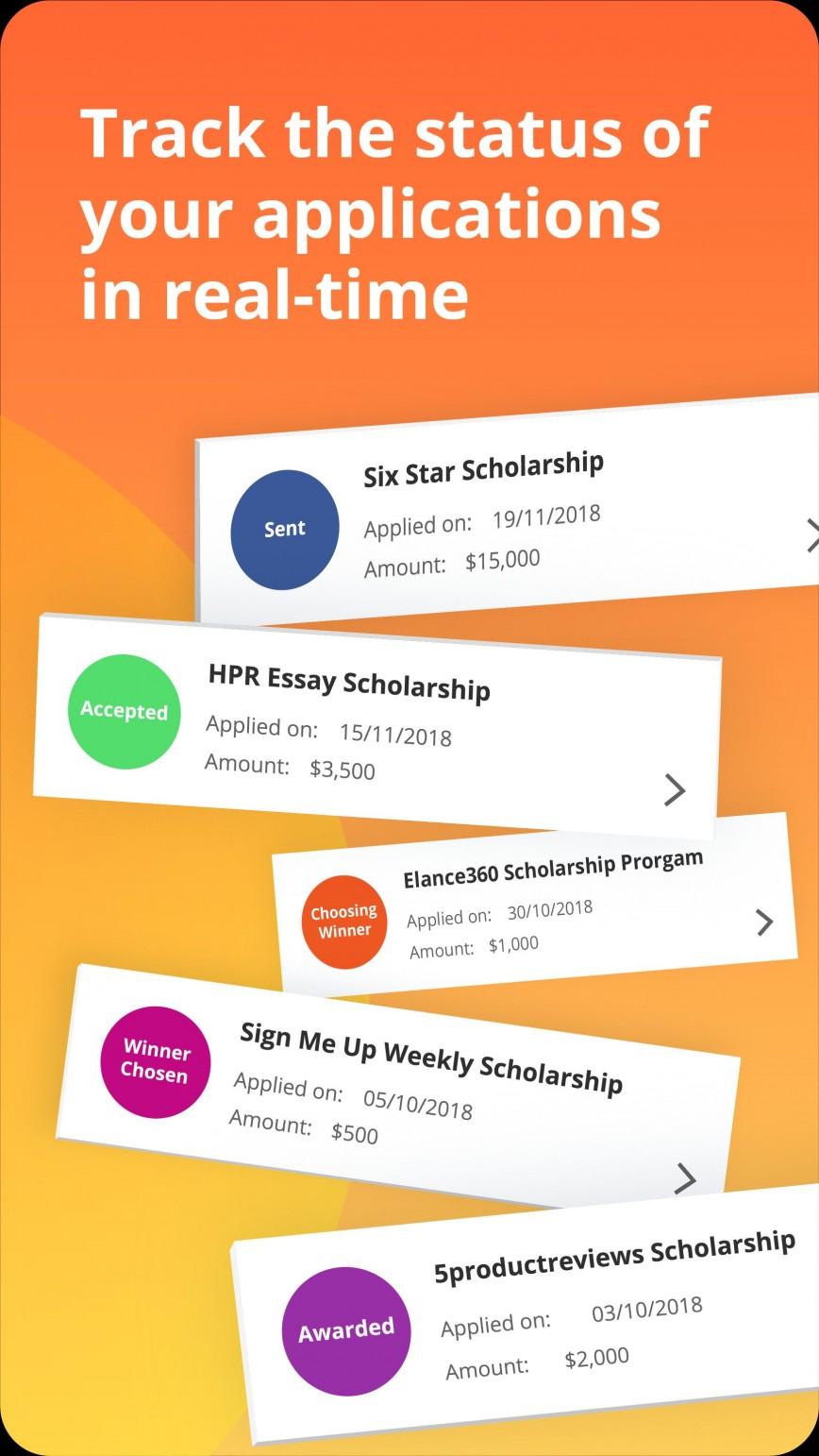 010 Essay Example Hpr Scholarship App Store Screens Sensational