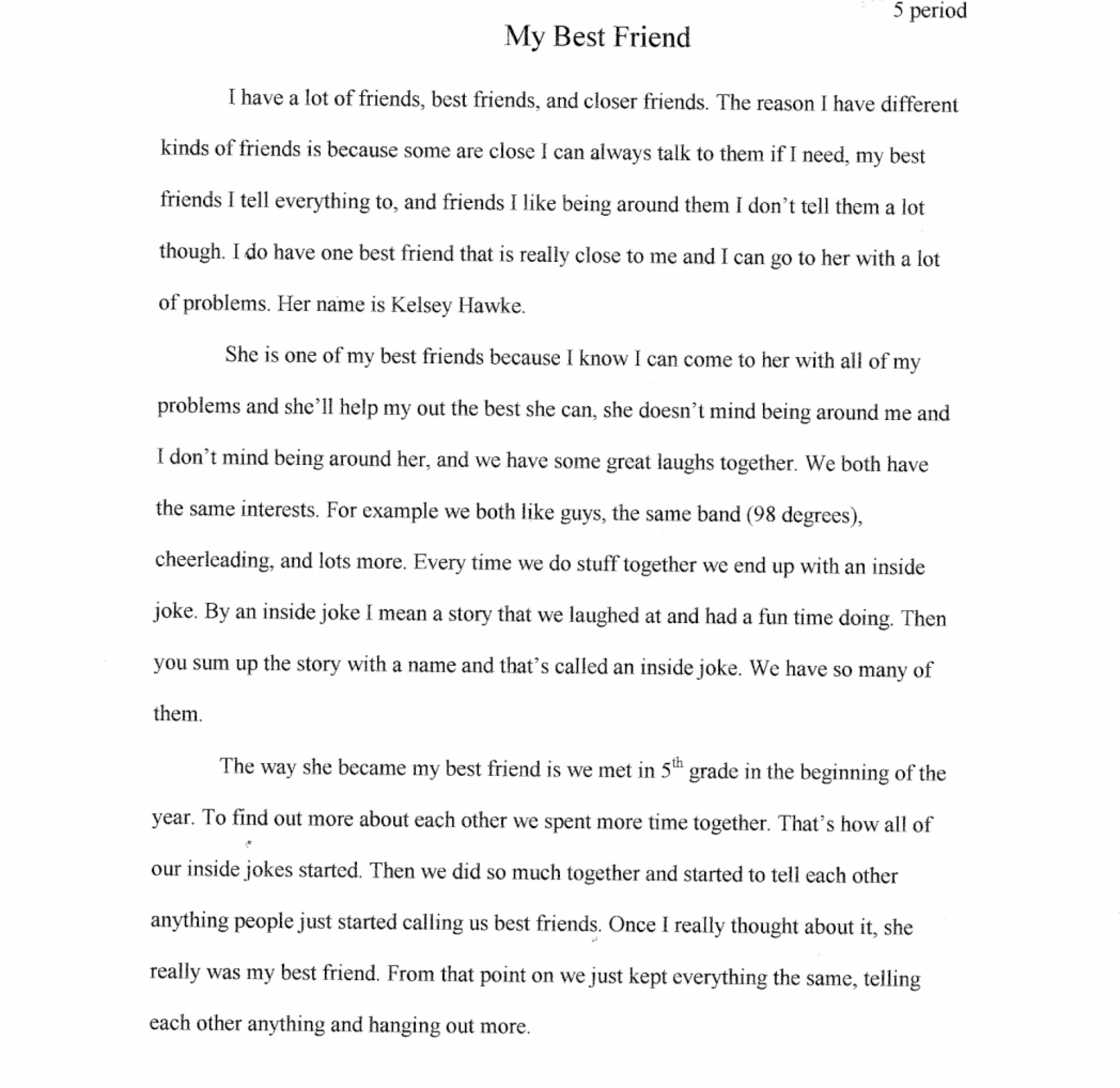 my friend essay example english best essays on friends    essay example kindness writing about my best friend essays do tips  th bestfriend books curriculum