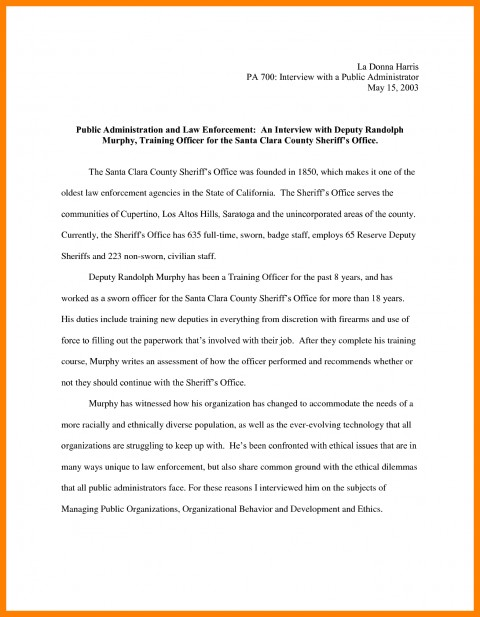 010 Essay Example Narrative Interview Writing An 308901 Exceptional Outline First Job 480