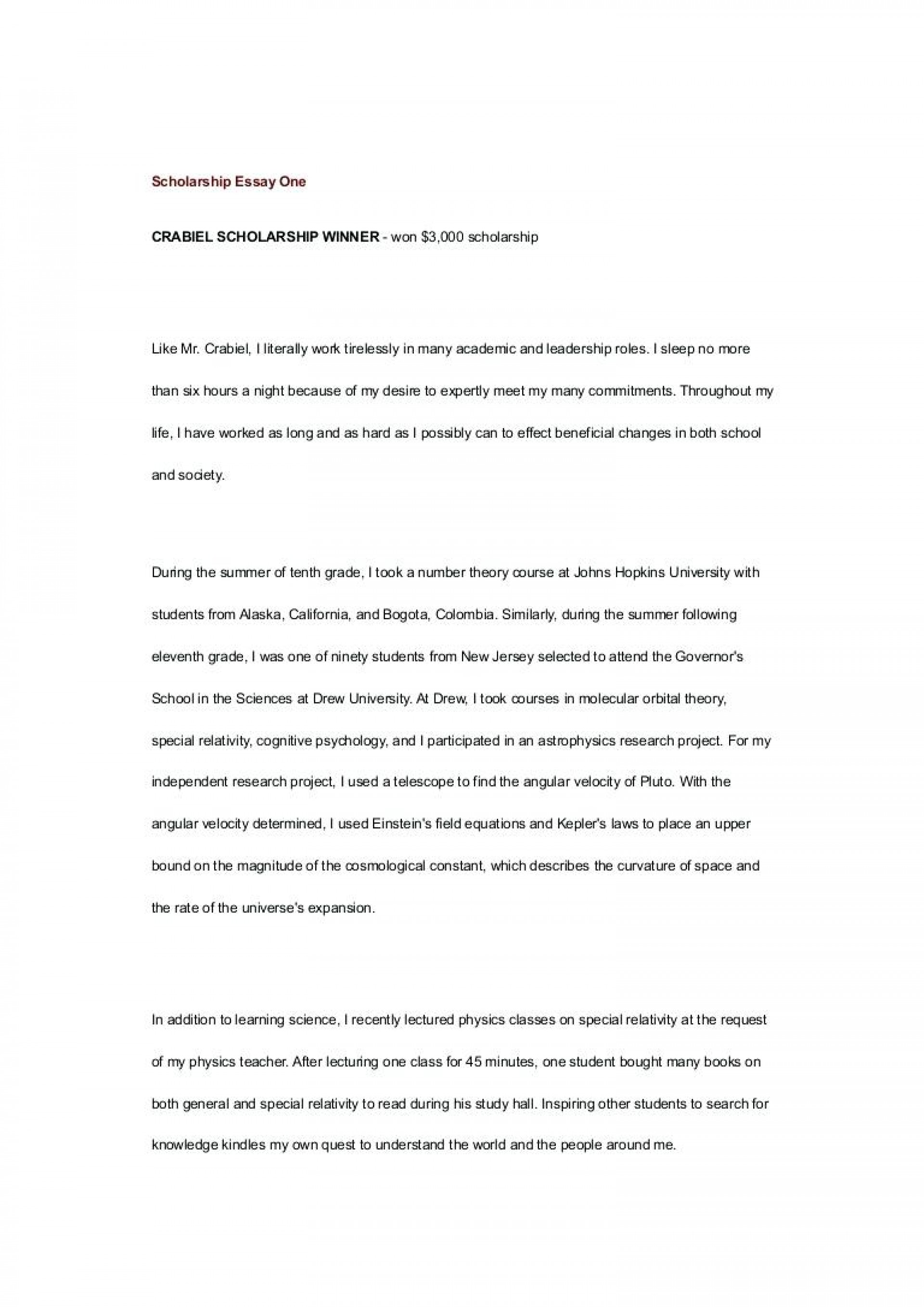 010 Essay Example No Scholarship College Application Template Legit Resume Cover Letter Thumbnail For Sample Wondrous Scholarships High School Seniors Niche Reddit 1920