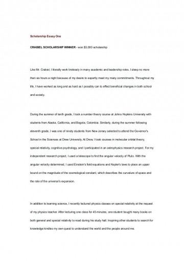 010 Essay Example No Scholarship College Application Template Legit Resume Cover Letter Thumbnail For Sample Wondrous Scholarships High School Freshman Seniors 2019 360