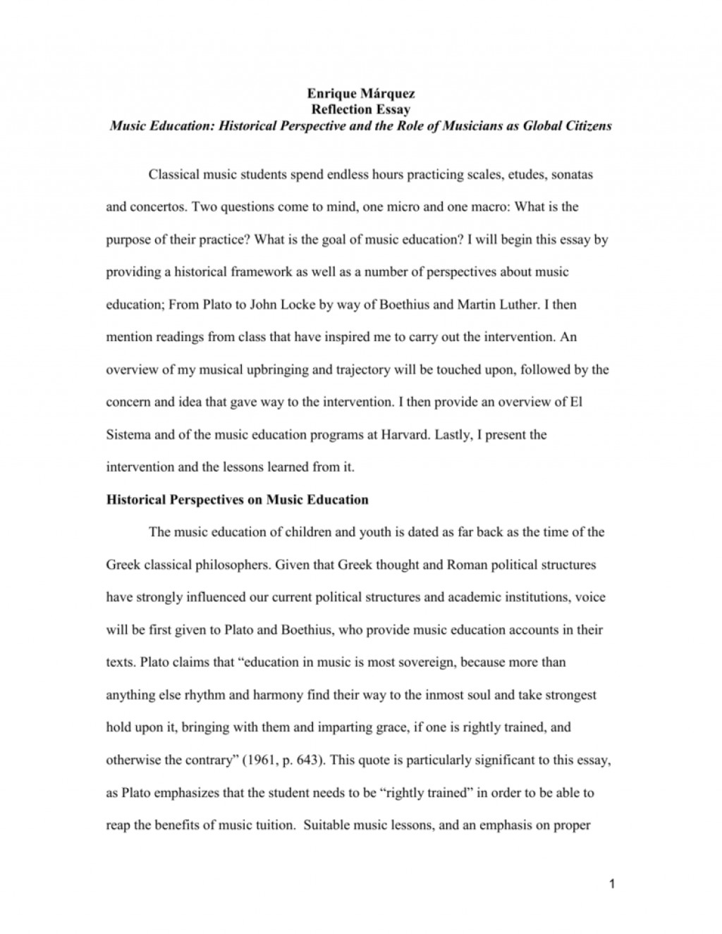 010 Essay Example On Music 008870213 1 Marvelous Musical Instruments Importance Of Culture And Large