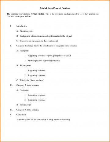 010 Essay Example Outline For Informal Marvelous Worksheet Format Research Paper Introduction 360