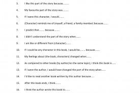 010 Essay Example Paragraph Starters Excellent Sentence Spanish Gcse