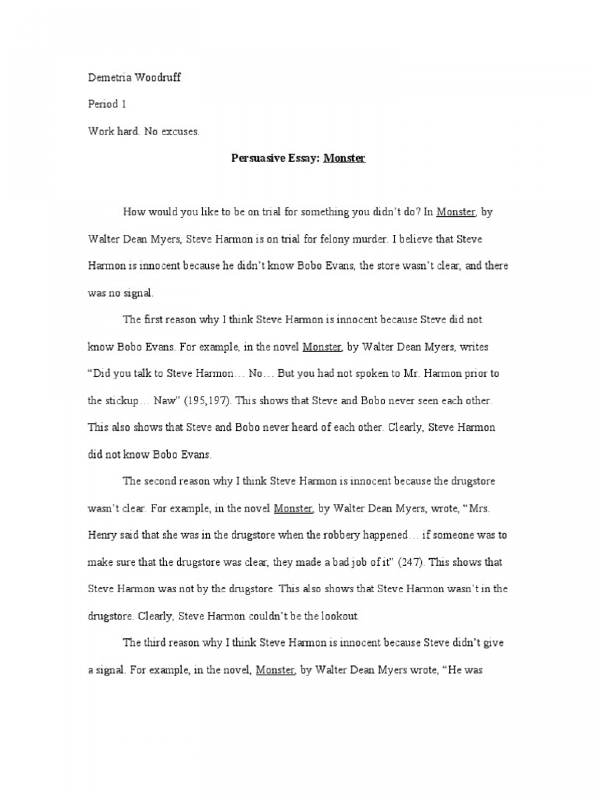 010 Essay Example Racism Monster Gxart Stearns Racial Inequality In Marvelous Conclusion Pdf Tkam 1920