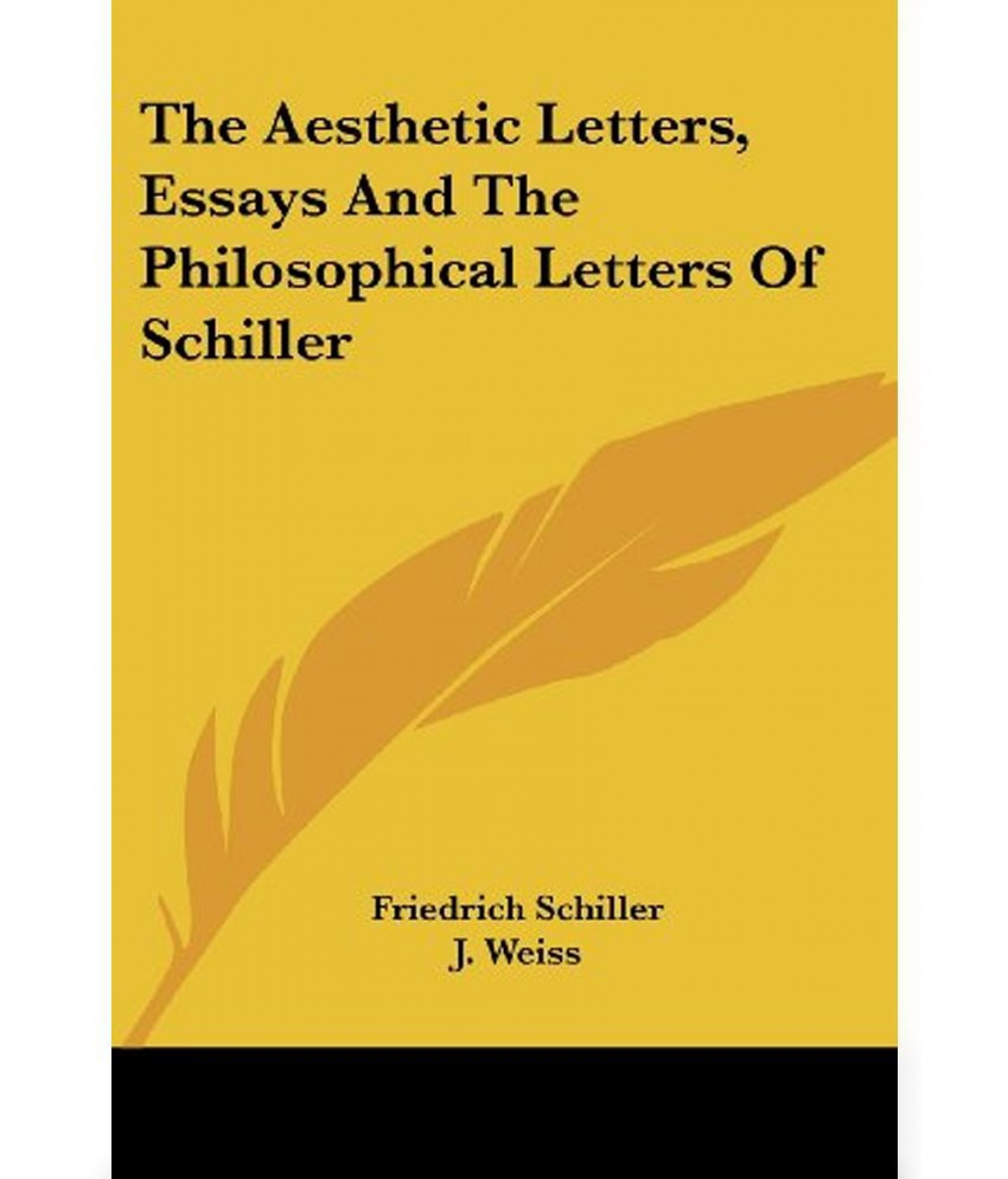 010 Essay Example The Aesthetic Letters Essays And Sdl905749925 Awful Schiller Friedrich 1920