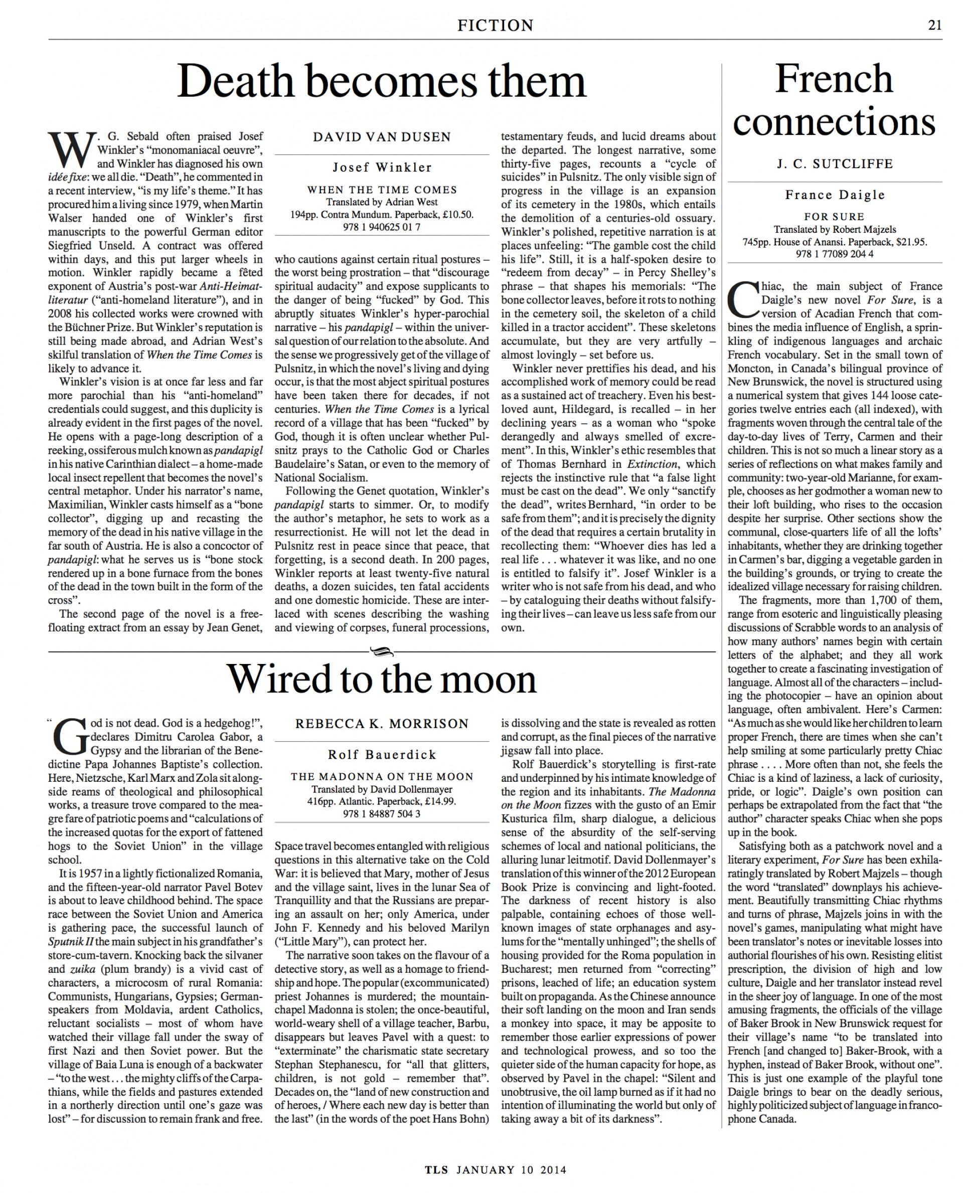 010 Essay Example Tls Josef Winkler Translate My Into Remarkable Spanish 1920