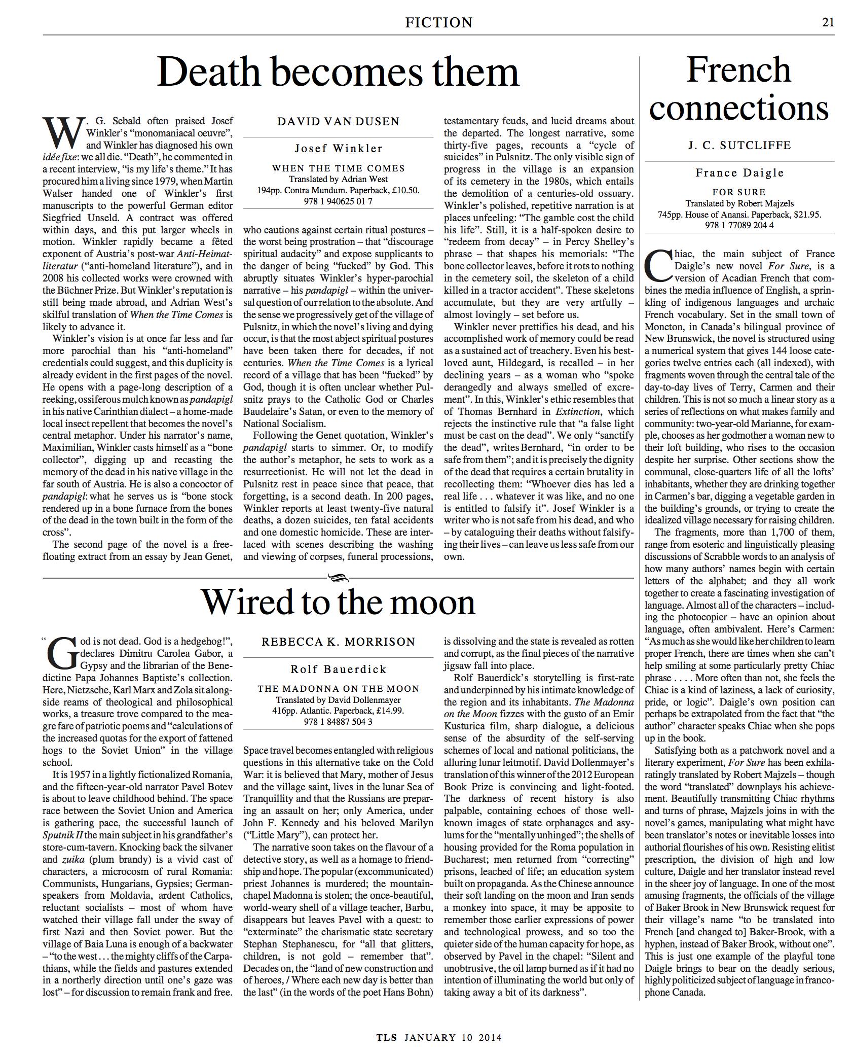 010 Essay Example Tls Josef Winkler Translate My Into Remarkable Spanish Full