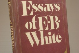 010 Essay Example X Essays Of Impressive Eb White Table Contents Analysis White's Once More To The Lake