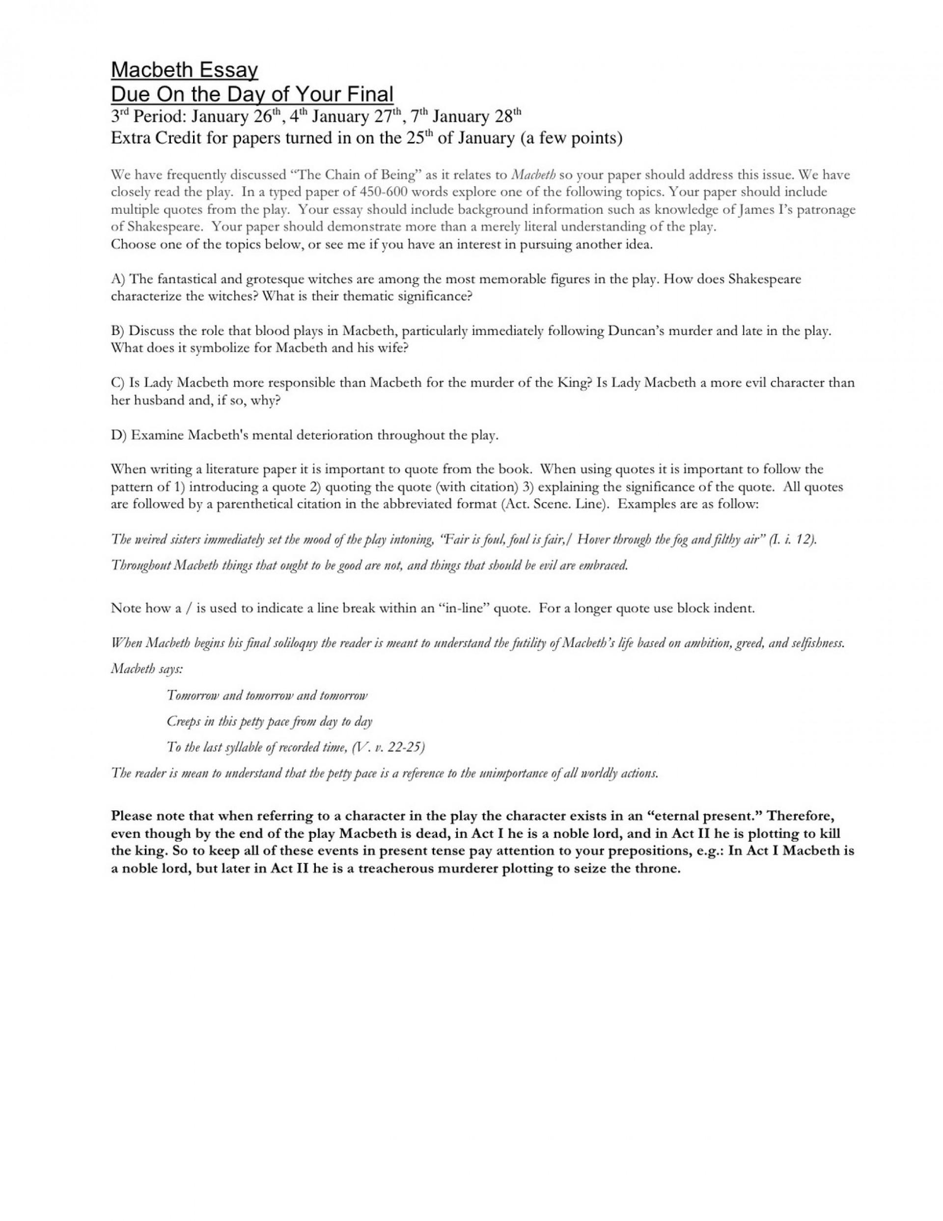 Relationship deterioration essay
