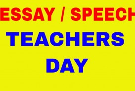 010 Essay On Teachers Day In India Example Fascinating 320
