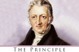 010 Essay On The Principle Of Population An Singular Thomas Malthus Sparknotes Advocated Ap Euro
