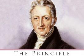 010 Essay On The Principle Of Population An Singular Pdf By Thomas Malthus Main Idea