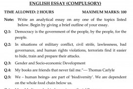010 Essay Papers Example Pms Past Fearsome Paper Upsc 2014 Of 2015 Css 2016