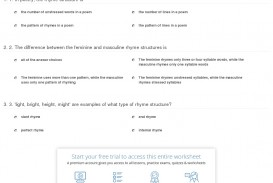 010 Essay Structure Types Quiz Worksheet Of Rhyme Structures Incredible Pdf Organizational