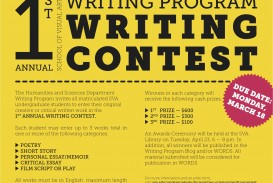 010 Essay Writing Blog 1st Annual Sva Program Contest Criteria Objectives Rubrics Tips Philippines For Nutrition Month Guidelines Mechanics Incredible Free Contests 2018 International Competitions High School Students India