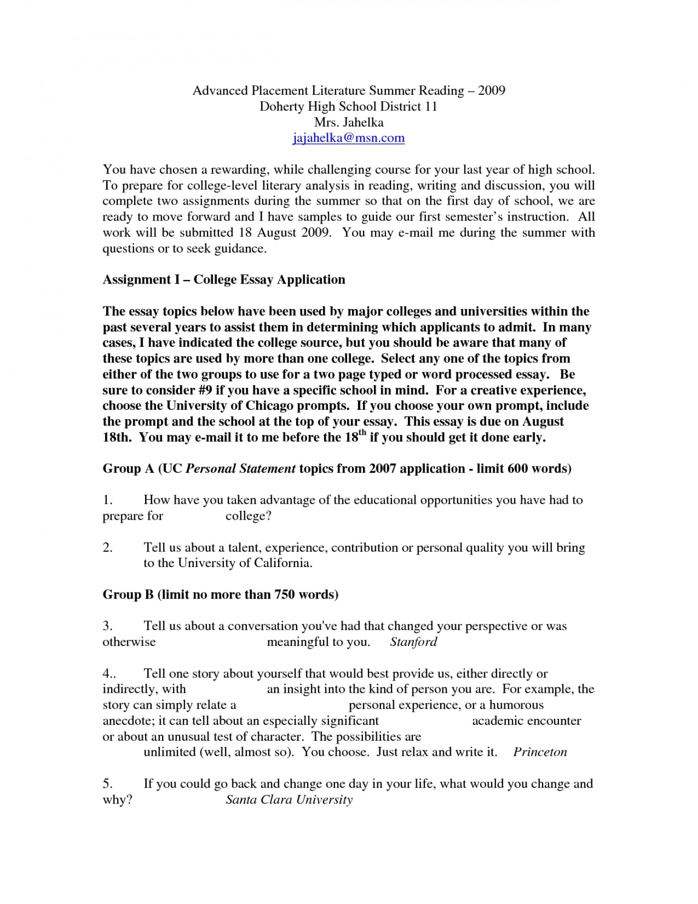 010 Essays For Middle School Ideas Of How To Write Good College Admissions Essay Admission With Best Humorous Shocking Informative Writing Leadership High Students 1400