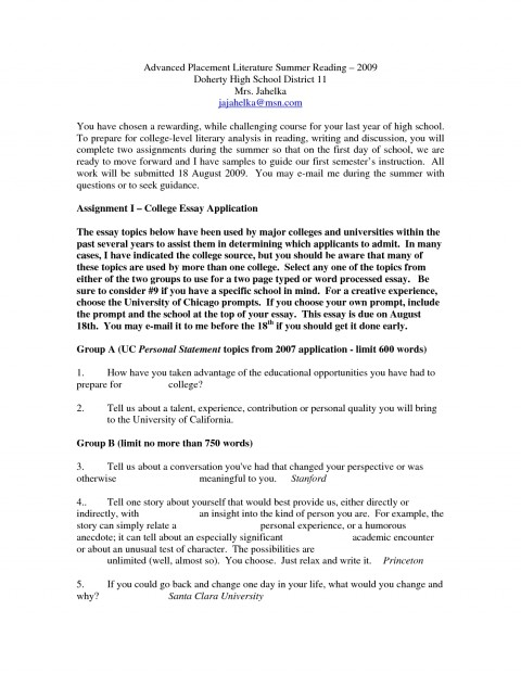 010 Essays For Middle School Ideas Of How To Write Good College Admissions Essay Admission With Best Humorous Shocking Informative Writing Leadership High Students 480