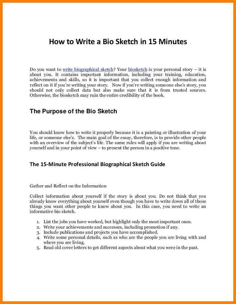 010 Example Of Someones Good Biography Brilliant Ideas Personal Essays Essay Examples Beautiful Topics Image How To Archaicawful Write A Life Full