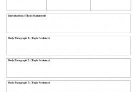 010 Five Paragraph Essay Format Example Outline Template 204445 Stirring Teaching Argumentative