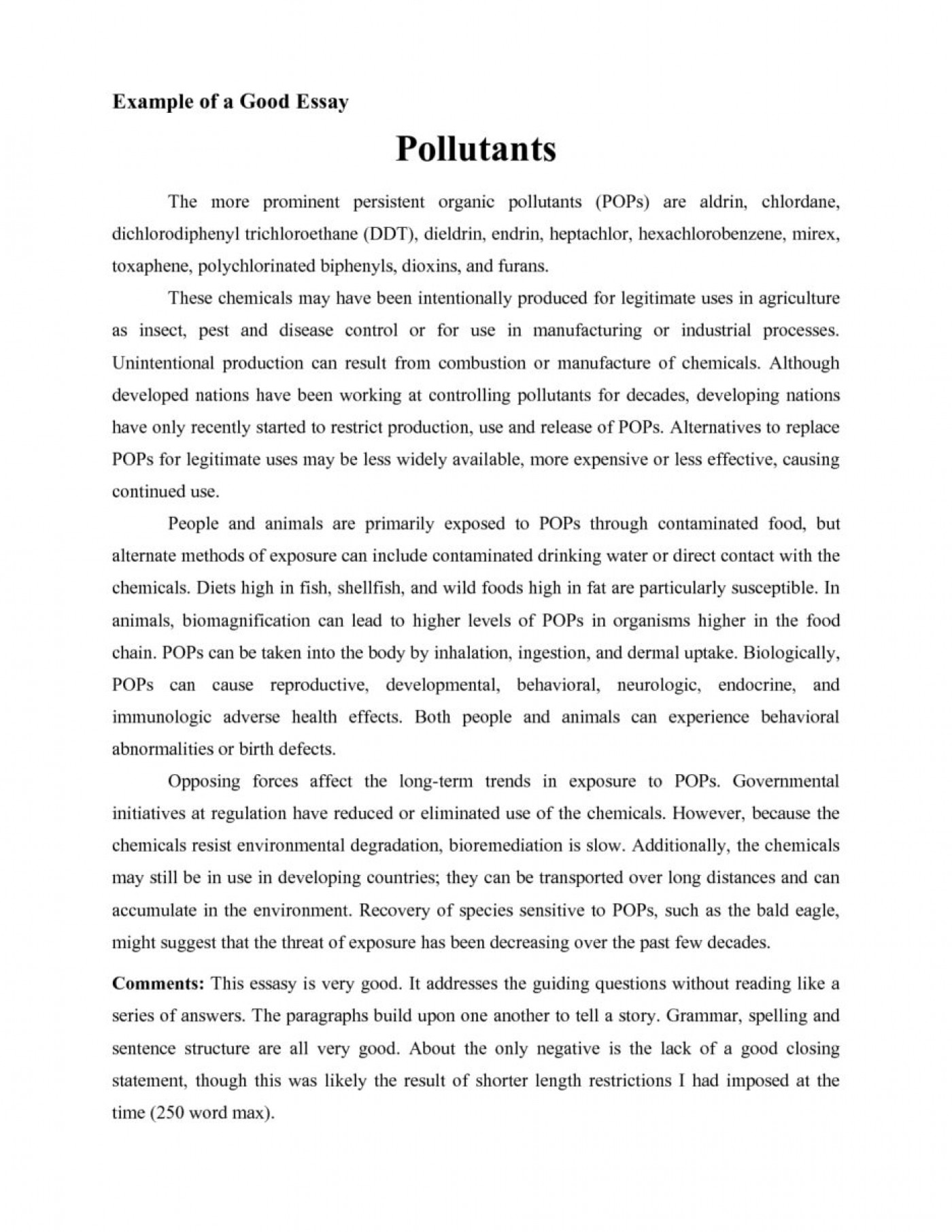 Objective and scope thesis