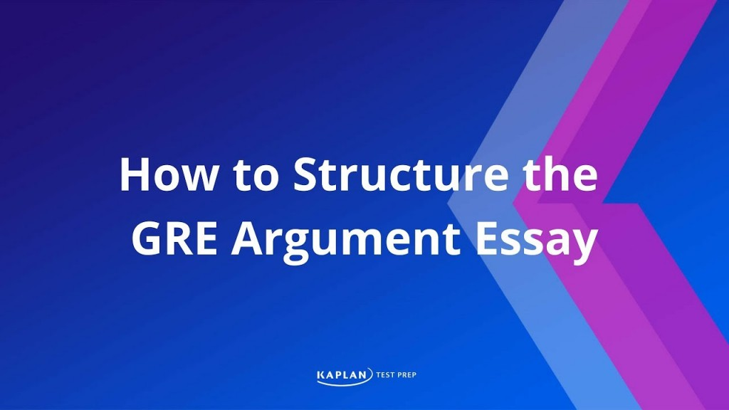 010 Gre Argument Essay Template Example Frightening Large