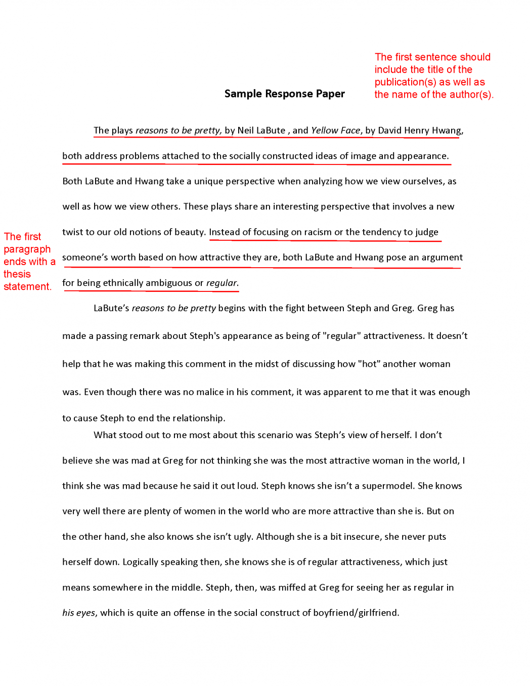010 How To Essay Write Papers Help Writing English Paper Do The Right Thing Challenge Examples Res Example Movie Marvelous For College Format Topics High School Full