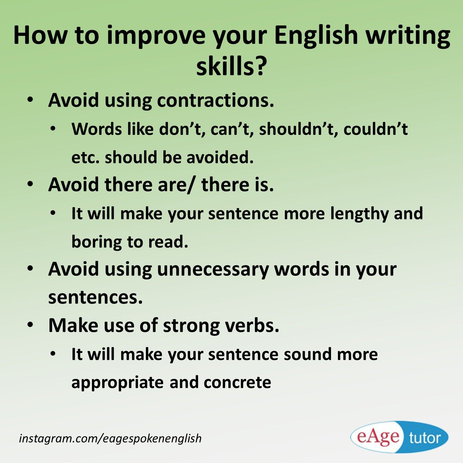 Apply these 7 secret techniques to improve essay writing