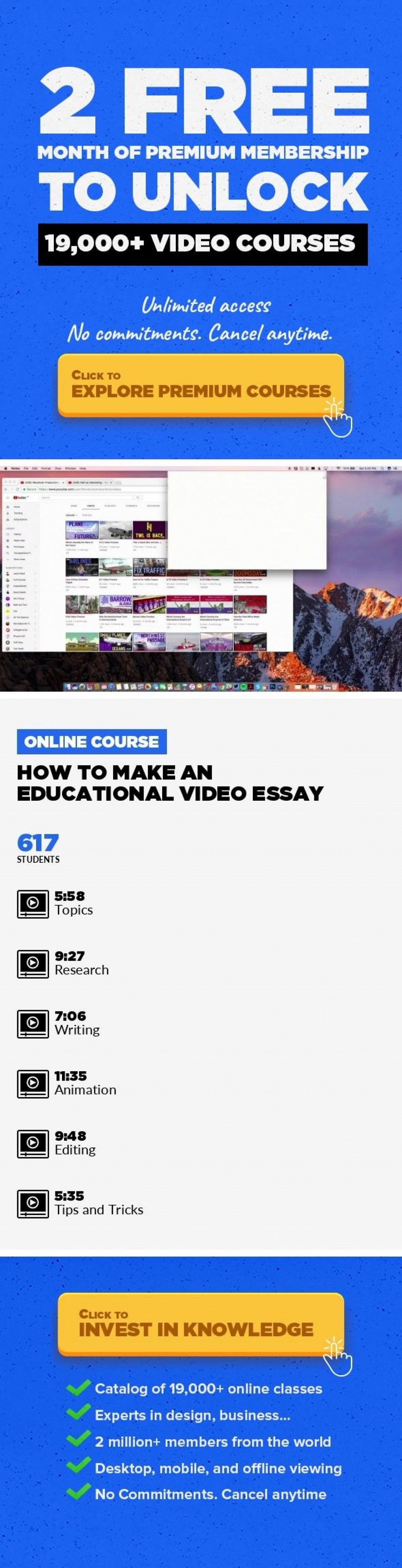 010 How To Make Video Essay Wonderful A Create Photo Using Imovie Large