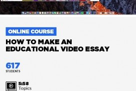010 How To Make Video Essay Wonderful A Create Photo Using Imovie