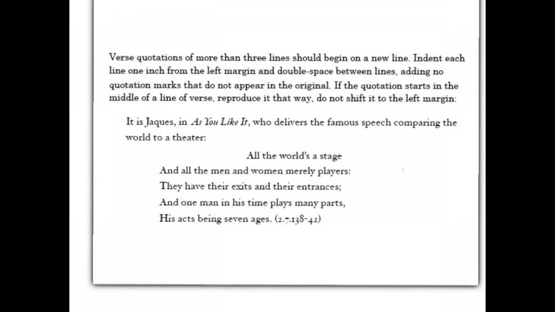 010 How To Quote Play In An Essay Maxresdefault Top A Dialogue From Do You Lines Mla 1920