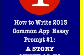 010 How To Write Common App Essay Coalition Application Prompts Frightening