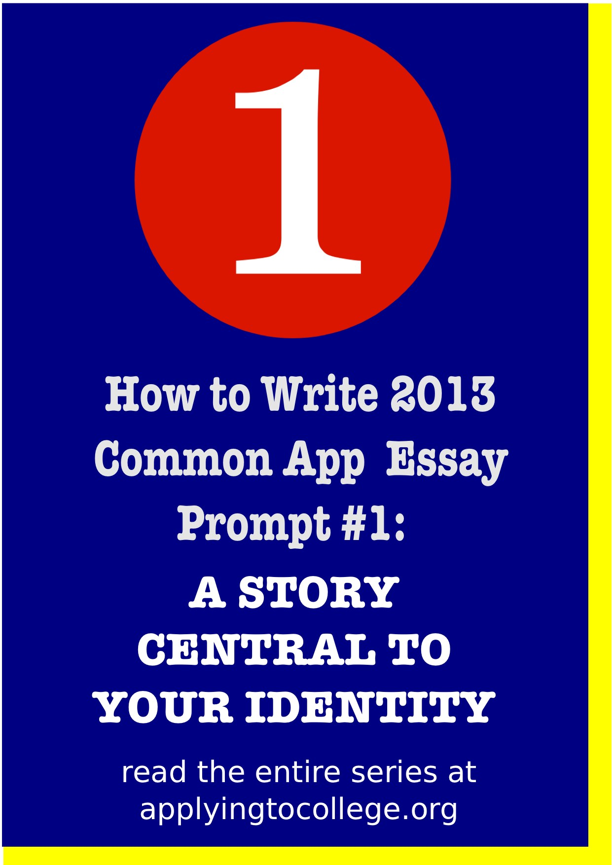 010 How To Write Common App Essay Coalition Application Prompts Frightening Full