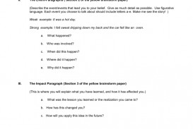 010 I Believe Essay 007820321 2 Impressive This Examples College Rubric Format